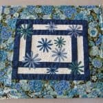 January Blues Applique