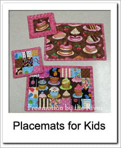 Placemats for Kids tutorial