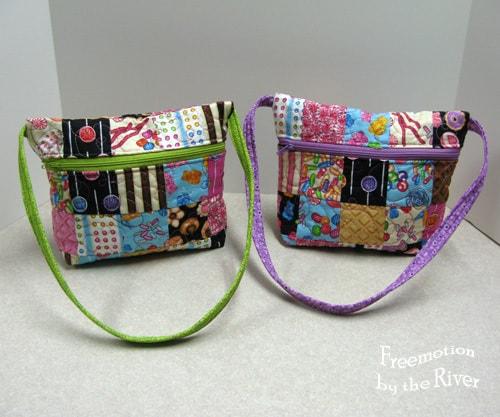Sweet Shop tote bag tutorial