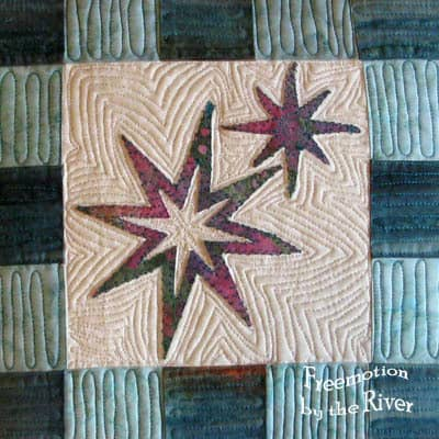 Star Light Star Bright Sizzix Pillow