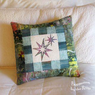 Star Light Star Bright Sizzix Pillow