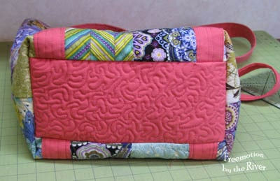 Tote bag quilt tutorial