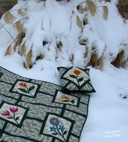 Flower Maze Quilt