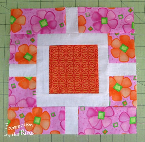 Garden Fence Quilt Block Tutorial