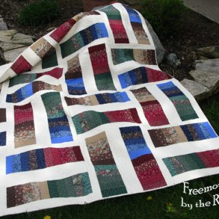 Coin Quilt Quilt As You Go
