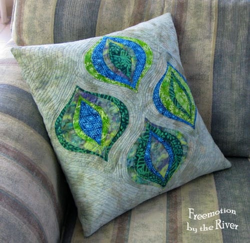 Texas Teardrop Pillow
