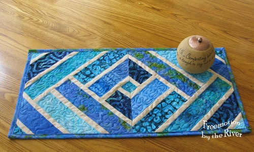 Mini Broken Herringbone Table Runner
