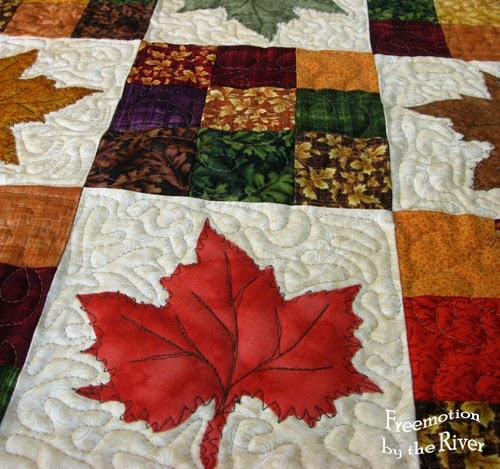 Maple Leaves Table Topper