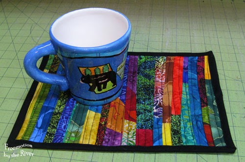 Scrappy Ambrosia Mug Rugs