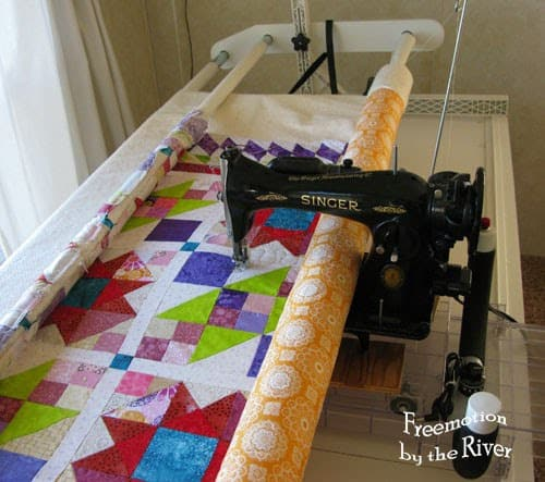 Quilting Lazy Sunday