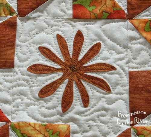 Sunflowers Pinwheel Table Topper for Fall