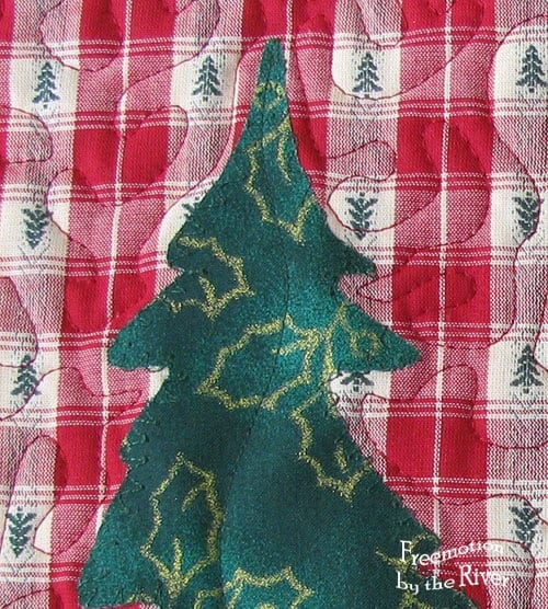 Evergreen Placemats Freebie