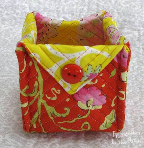 More fabric boxes