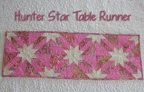 Hunter Star Table Runner