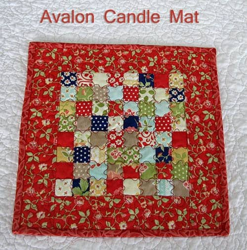 Avalon Candle Mat Mini Tutorial