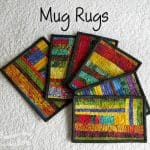 Scrappy Mug Rugs