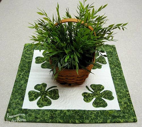 St. Patrick's Day Table Topper