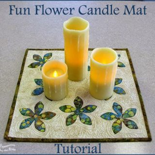 AccuQuilt GO! Fun Flower Candle Mat