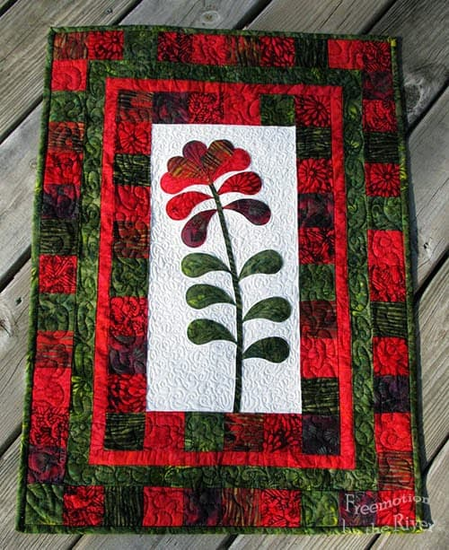 Island Flower Wall Hanging