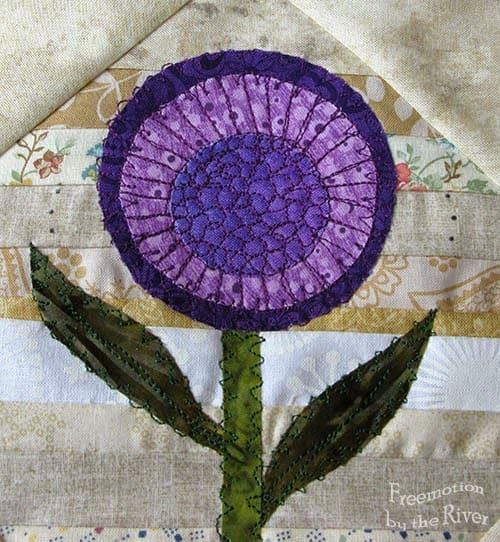 Purple String Flower