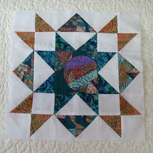 tar sampler pieced block