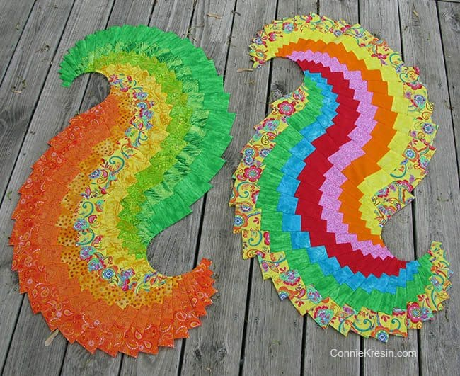 Spicy Spiral Table Runner in two colors