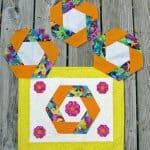 AccuQuilt GO! Summer Hexie Florals