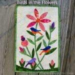 AccuQuilt Birds in the Flowers