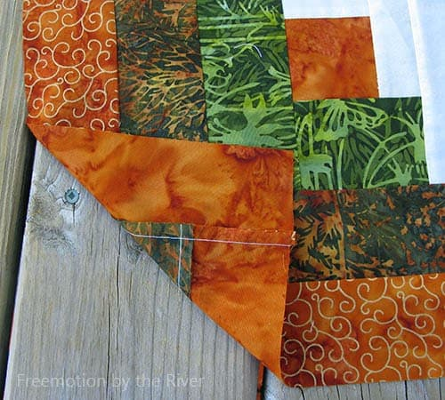 Amber Logs Quilt Pattern