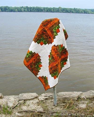 Amber Logs Quilt Pattern