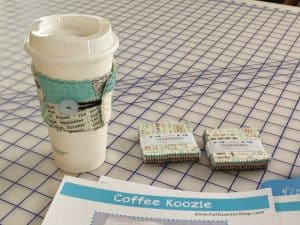 Coffee Koozie free tutorial