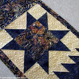 Quilted in Honor table runner