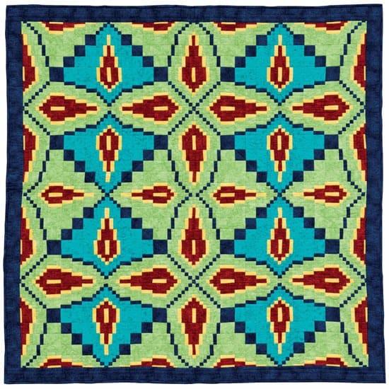 Indian Beadwork quilt