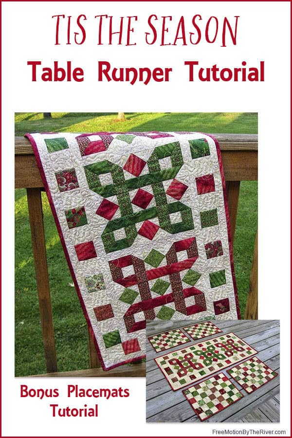 Tis the season tablerunner tutorial