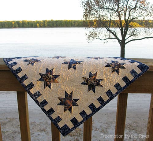Quilt Stars along the River