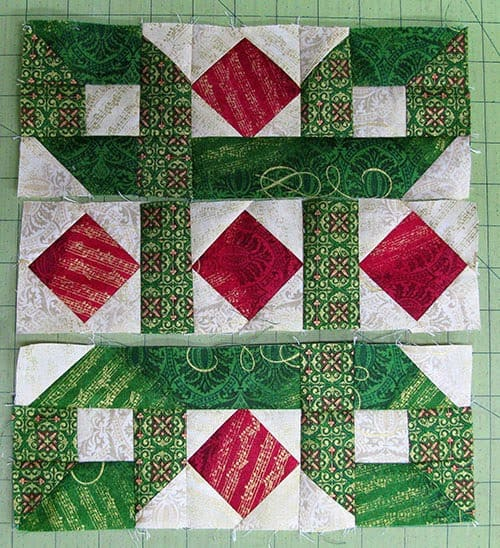Tis the Season Table Runner Tutorial