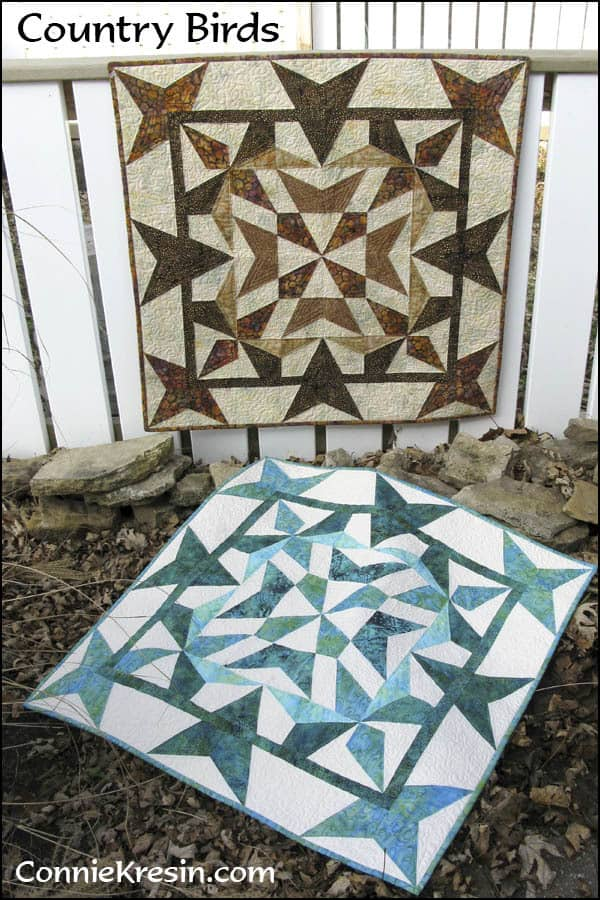 Country Birds Quilt Pattern - ConnieKresin.com