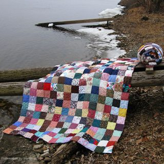 Fast and Easy Scrappy Quilt