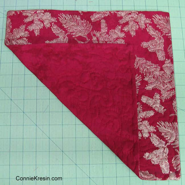 Fabric Basket tutorial quilt as desired