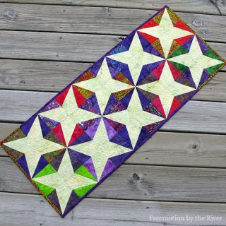 AccuQuilt GO! Crayon Table Runner
