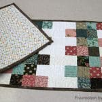 Mini Charm Mix Table Runner Free Pattern