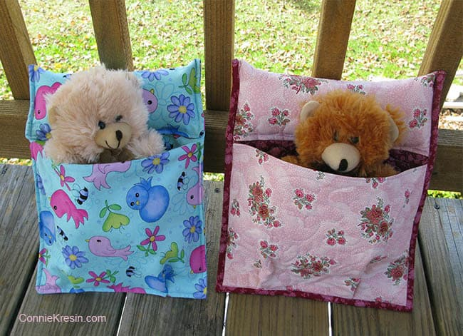 Sleeping Bag Tutorial for bears and dolls