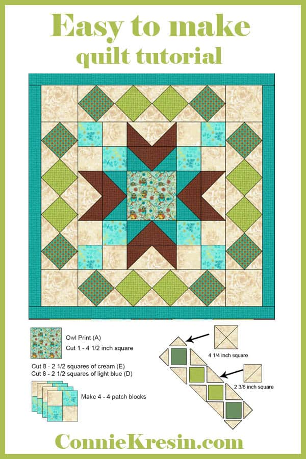 How to make Who's Who quilted wall hanging tutorial