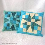 54-40 quilted pillow tutorial on quilt
