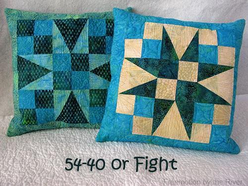 Batik Pillow Tutorial Island