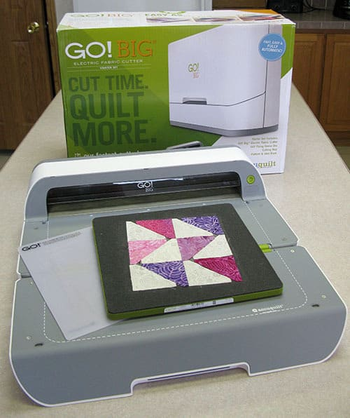 GO! BIG AccuQuilt Die Cutter