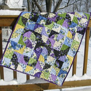 Lovely Drunkard Baby Quilt