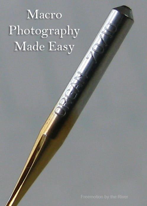 Macro Photography and Needles