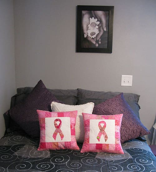 Pink Pillows Breast Cancer Awareness