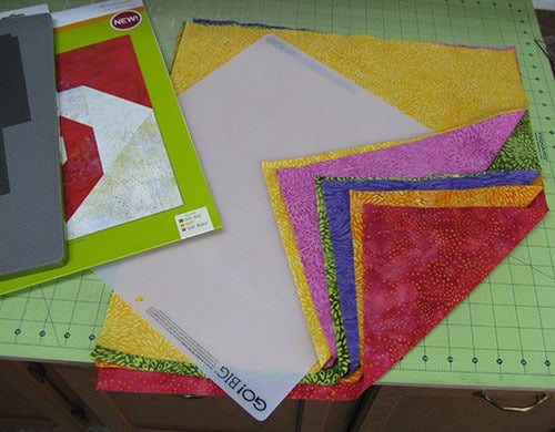 Colorful Snails AccuQuilt GO! Baby Quilt